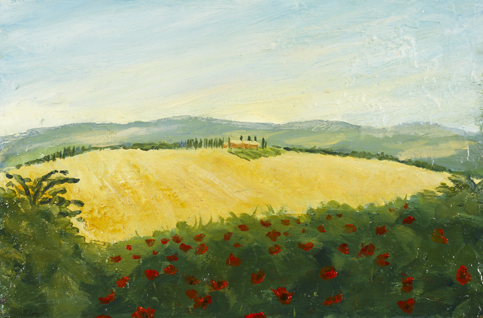 On a Tuscan hill